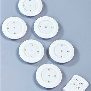 6 Wireless Lights + Remote